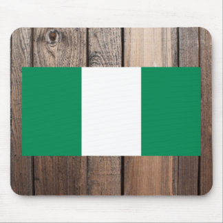 National Flag of Nigeria Mouse Pad