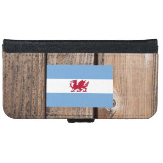 National Flag of Patagonia Wallet Phone Case For iPhone 6/6s