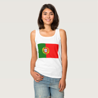 National Flag of Portugal Tank Top
