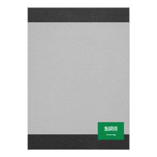 National Flag of Saudi Arabia Card