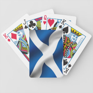 National Flag of Scotland & St Andrew Patriotic Bicycle Playing Cards