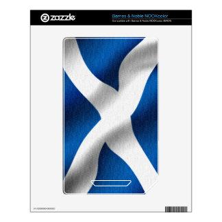 National Flag of Scotland & St Andrew Patriotic Skin For NOOK Color