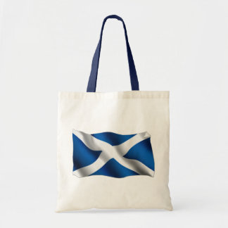 National Flag of Scotland & St Andrew Patriotic Tote Bag