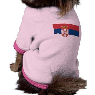 National Flag of Serbia Pet Tshirt