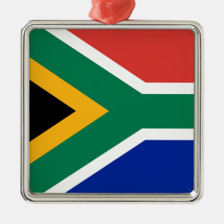 National flag of South Africa - Authentic version Metal Ornament