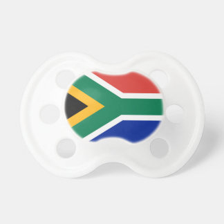 National flag of South Africa - Authentic version Pacifier