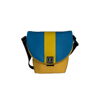 National Flag of Sweden Courier Bag