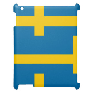 National Flag of Sweden Cover For The iPad 2 3 4
