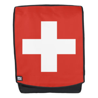 National Flag of Switzerland Backpack