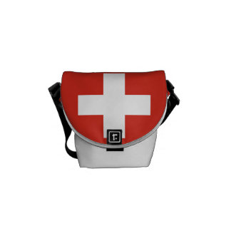 National Flag of Switzerland Courier Bag
