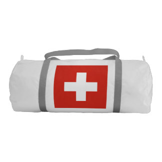 National Flag of Switzerland Duffle Bag