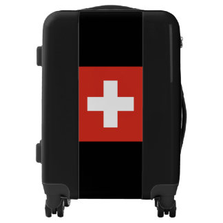 National Flag of Switzerland Luggage