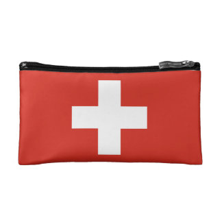 National Flag of Switzerland Makeup Bag