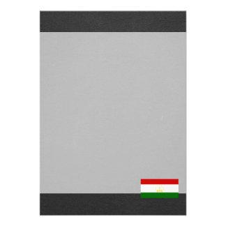 "National Flag of Tajikistan 5"" X 7"" Invitation Card"