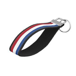 National Flag of the Netherlands, Holland, Dutch Wrist Keychain
