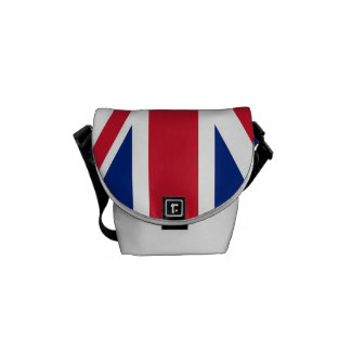 National Flag of the United Kingdom UK, Union Jack Courier Bag