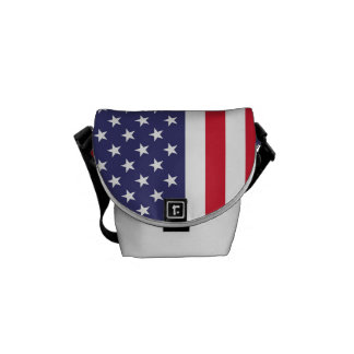 National Flag of the United States of America Messenger Bag
