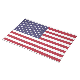 "National flag of the USA - Authentic Scale ""G-spec Placemat"
