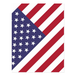 "National flag of the USA - Authentic Scale ""G-spec Postcard"