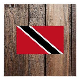 National Flag of Trinidad and Tobago Poster