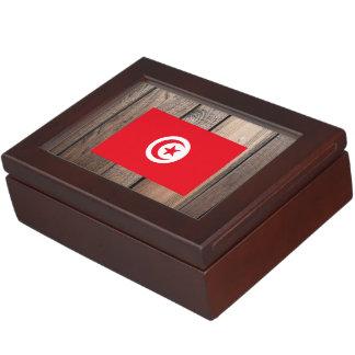 National Flag of Tunisia Memory Box