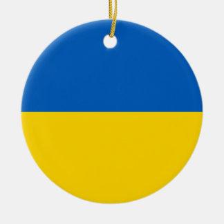 National Flag of Ukraine Christmas Ornaments
