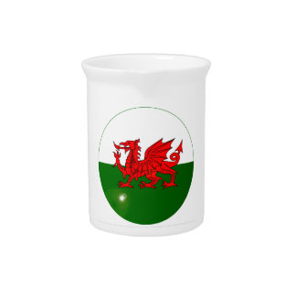 National Flag of Wales Button Pitcher