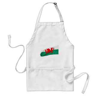 National Flag of Wales, The Red Dragon Patriotic Adult Apron