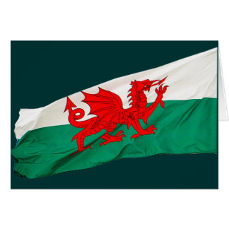 National Flag of Wales, The Red Dragon Patriotic Card