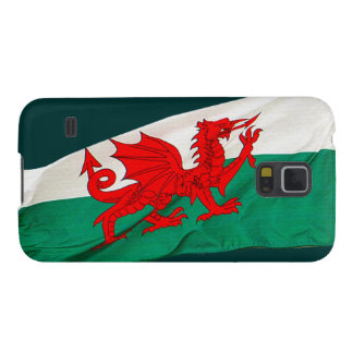 National Flag of Wales, The Red Dragon Patriotic Galaxy S5 Case