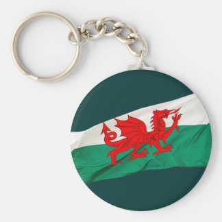 National Flag of Wales, The Red Dragon Patriotic Keychain