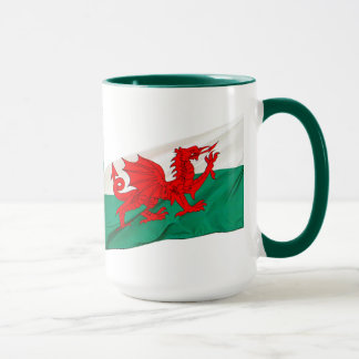 National Flag of Wales, The Red Dragon Patriotic Mug