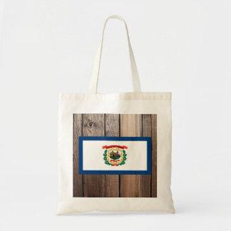 National Flag of West Virginia Budget Tote Bag