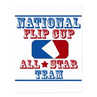 national flip cup champion postcard