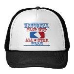 national flip cup champion trucker hat