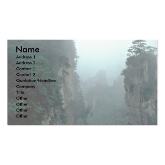 National forest park, Wuling Mountain, Hunan provi Double-Sided Standard Business Cards (Pack Of 100)