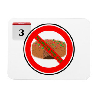 National Fruitcake Toss Day! Magnets