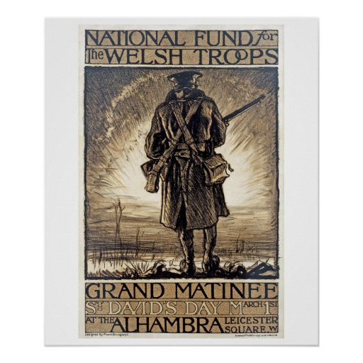 National Fund for Welsh_Propaganda poster