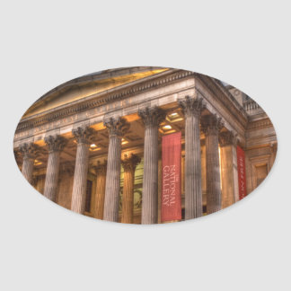 National Gallery Oval Sticker
