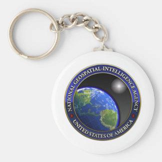 National Geospatial-Intelligence Agency (NGA) Keychain