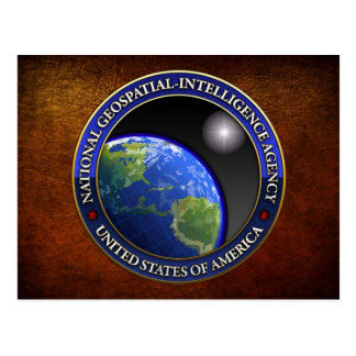 National Geospatial-Intelligence Agency (NGA) Postcard