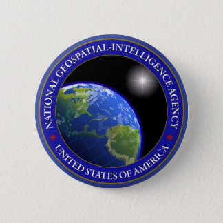 National Geospatial-Intelligence Agency Pinback Button