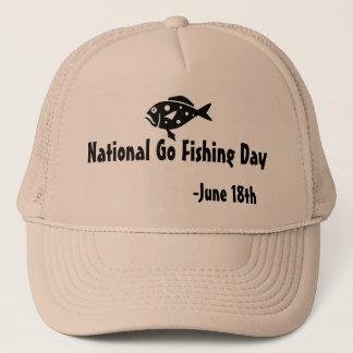 National Go Fishing Day Trucker Hat