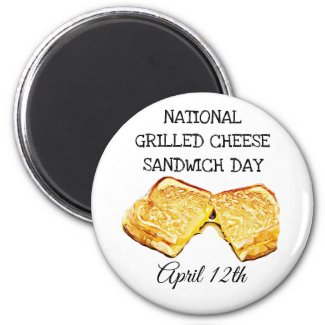 National Grilled Cheese Sandwich Day April 12th