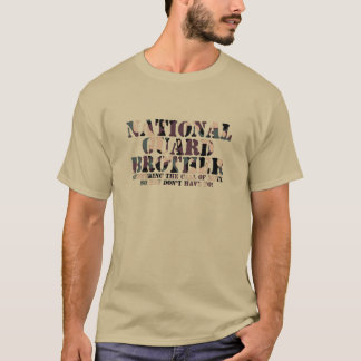 National Guard Brother Answering Call T-Shirt