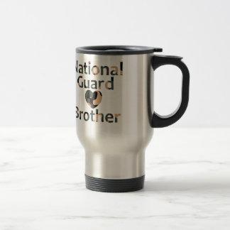 National Guard Brother Heart Camo Travel Mug