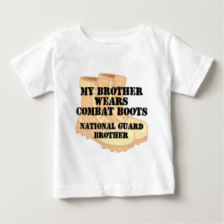 National Guard Brother wears DCB Baby T-Shirt