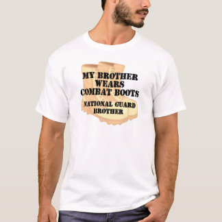 National Guard Brother wears DCB T-Shirt
