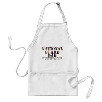 National Guard Dad Answering Call Aprons