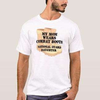 National Guard Daughter Mom DCB T-Shirt